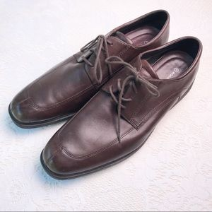 Rockport Brown Leather Oxfords Dress Shoes Sz 14